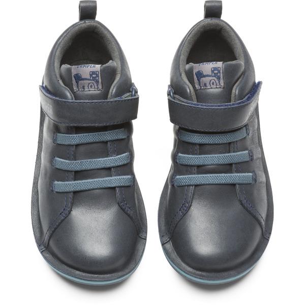 Camper Beetle  Grey Boots Kids K900051-003