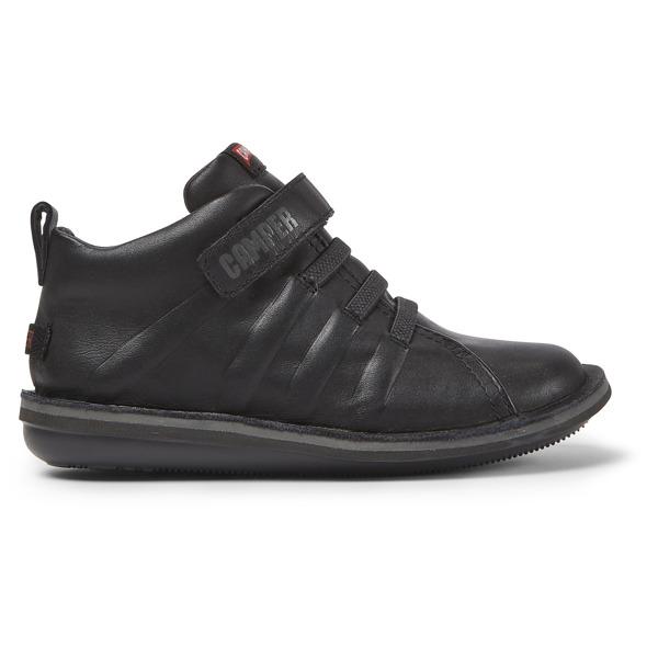 Camper Beetle Black Boots Kids K900051-004