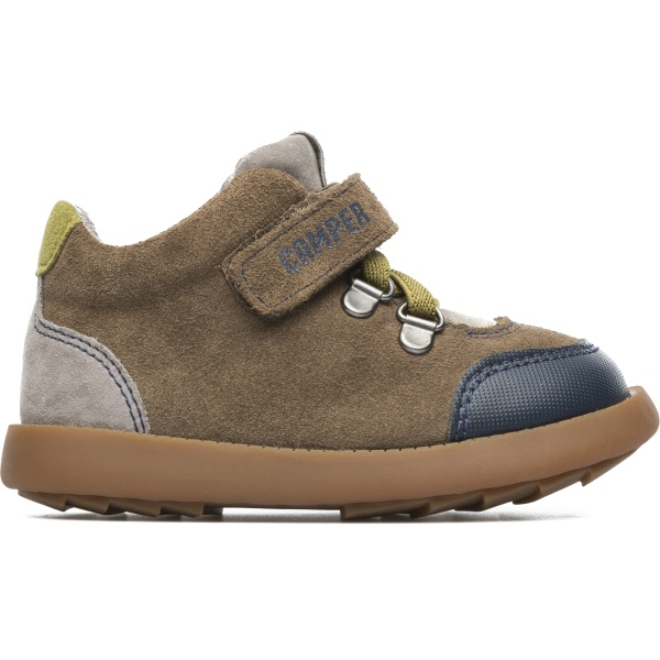 Camper Bryn Brown Boots Kids K900077-005