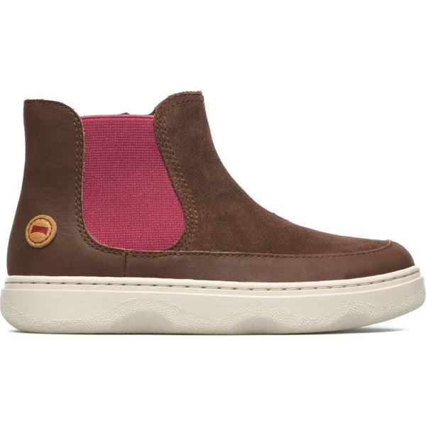 Camper Kido Brown Ankle Boots Kids K900097-003