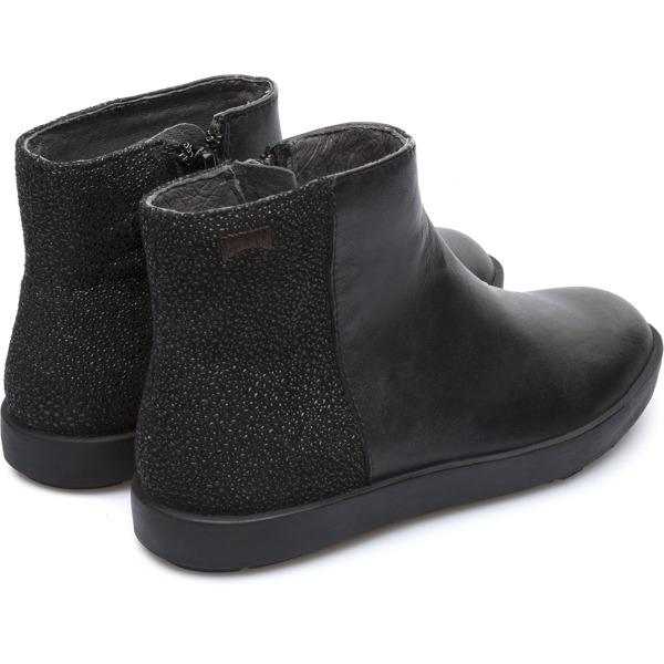 Camper Leonor Black Ankle Boots Kids K900099-001