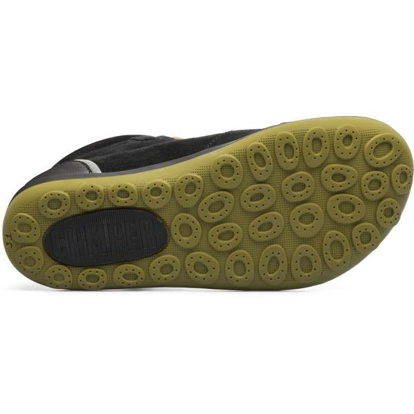 Camper Peu Pista Grey Ankle Boots Kids K900107-005