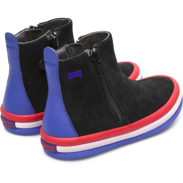 Camper Pursuit Black Ankle Boots Kids K900120-002