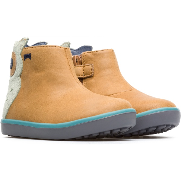 Camper Pursuit Beige Boots Kids K900125-002