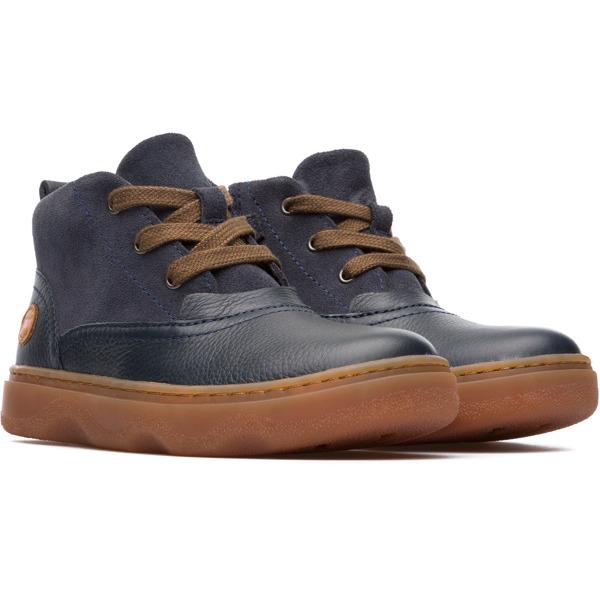 Camper Kido Blue Ankle Boots Kids K900130-002