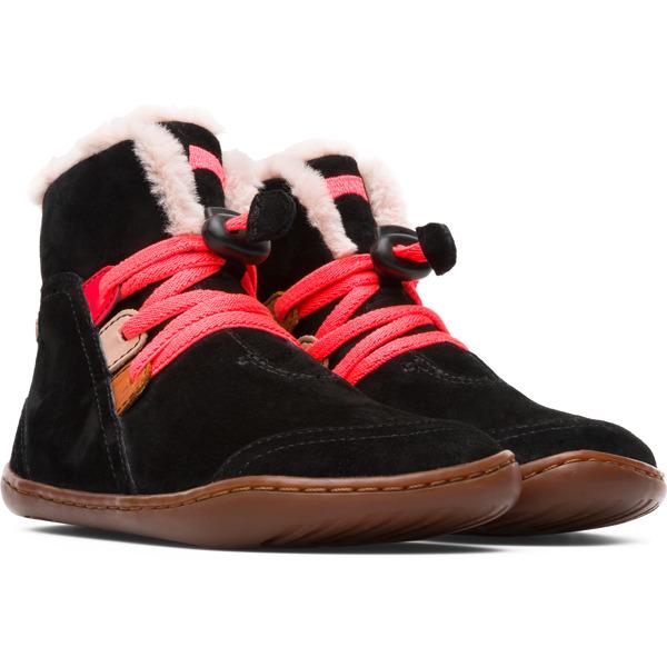Camper Twins Black Boots Kids K900147-002