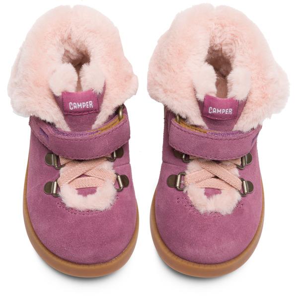Camper Bryn Purple Boots Kids K900155-002
