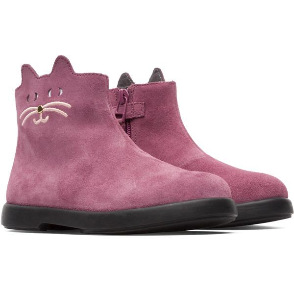 Camper Duet Purple Boots Kids K900158-002