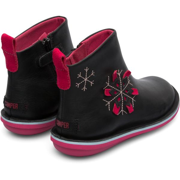 Camper Twins Black Boots Kids K900177-002
