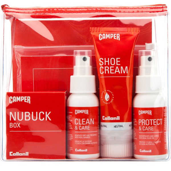 Camper Shoe Care Travel Kit  Gift accessories Men L8117-001