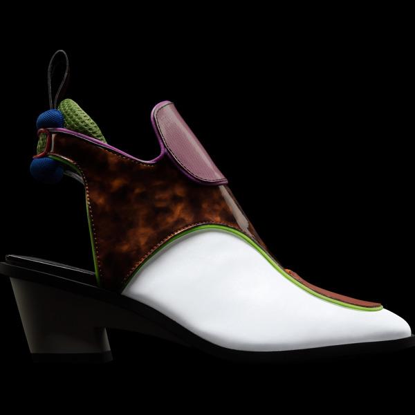 Camper Kiko Kostadinov Multicolor Ankle Boots Women K400393-001