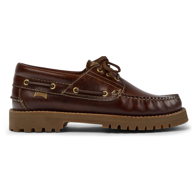 Camper Nautico, Chaussures casual Homme, Marron , Taille 47 (EU), 15233-001