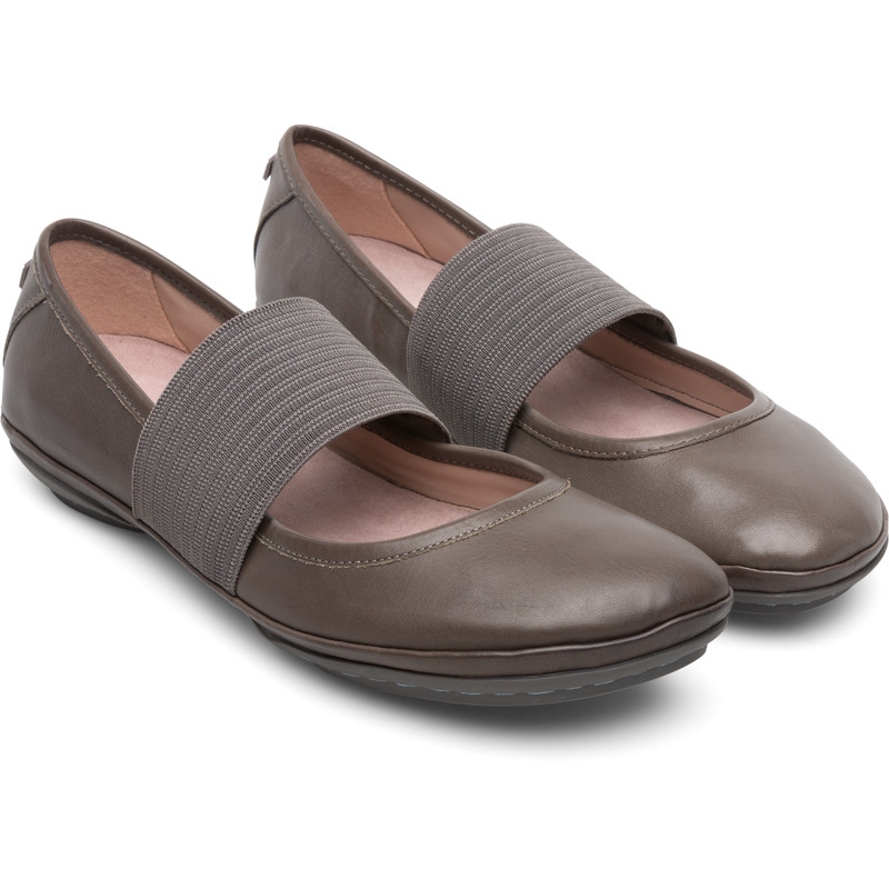 Camper Right, Ballerinas Damen, Grau