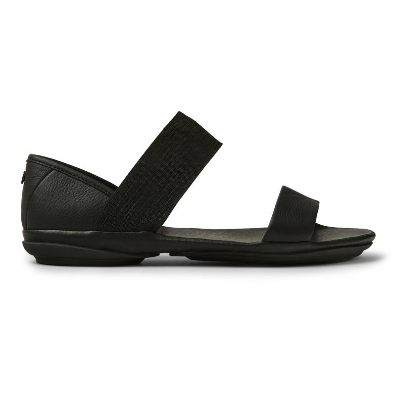 Camper Right, Sandals Women, Black , Size 35 (EU), 21735-008