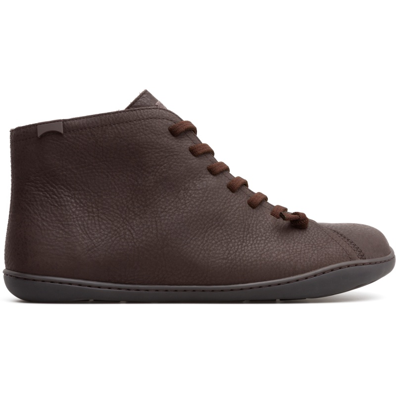 Camper Peu, Stiefeletten Herren, Braun , Größ|e 41 (EU), 36411-089 | Schuhe > Sneaker > Sneaker high | Braun | Glattleder | CAMPER