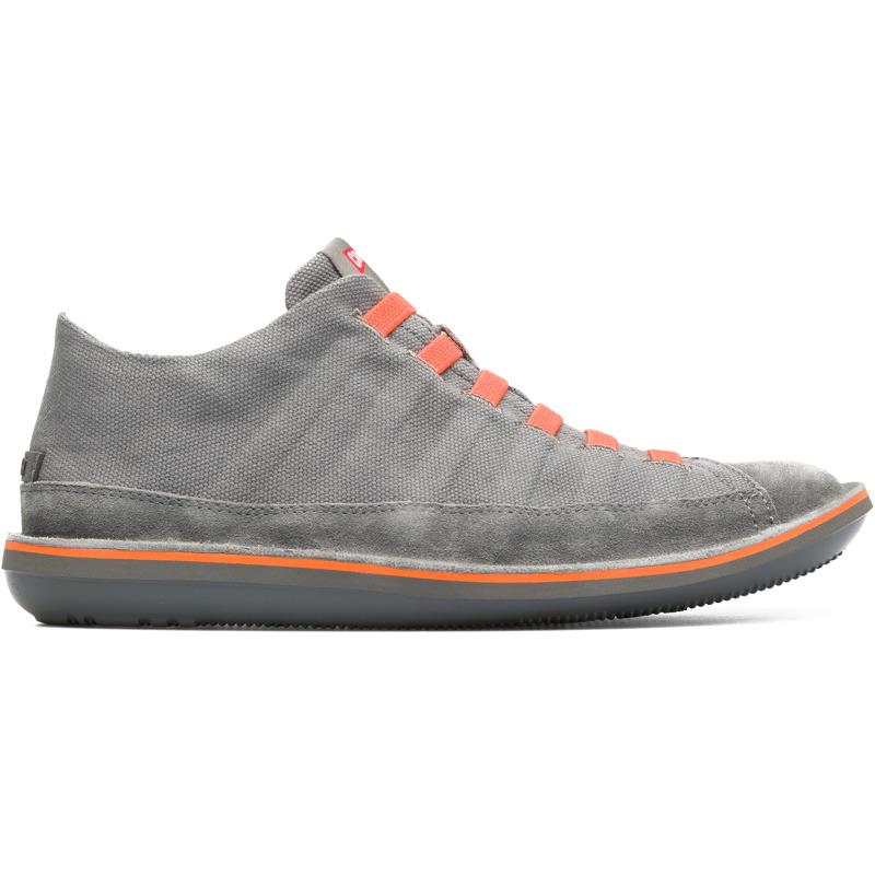 Camper Beetle, Stiefeletten Herren, Grau , Größ e 39 (EU), 36791-047   Schuhe > Sneaker > Sneaker high   Grau   Textile   CAMPER