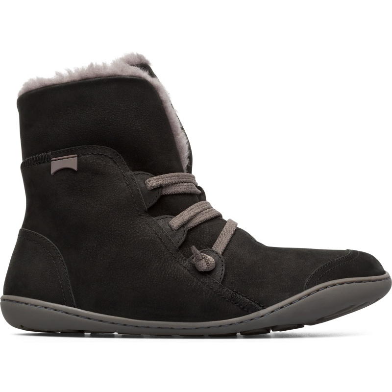 Camper Peu, Ankle boots Women, Black , Size 35 (EU), 46477-044