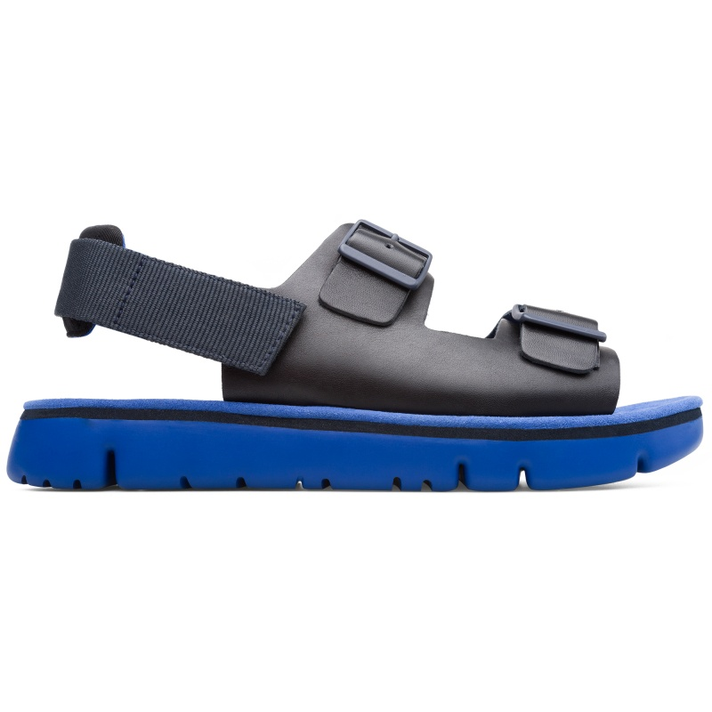 Camper Oruga, Sandales Homme, Bleu , Taille 39 (EU), K100287-002