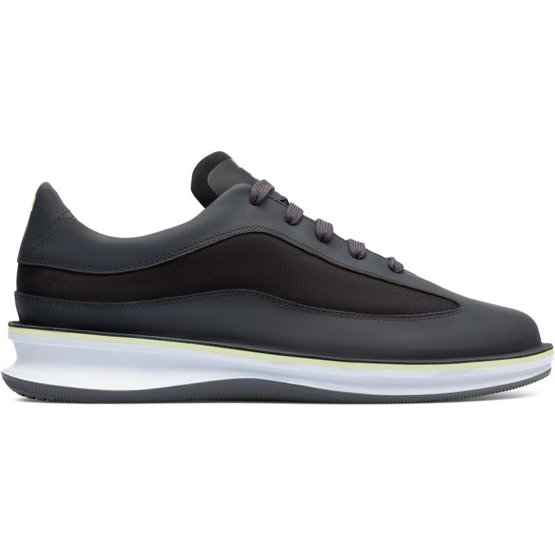 Camper Rolling, Sneaker Herren, Grau/|Schwarz, Größ|e 40 (EU), K100390-004 | Schuhe > Sneaker | Grau/schwarz | Glattleder/textile | CAMPER