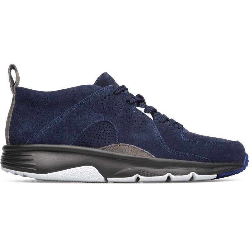 Camper Drift, Sneaker Herren, Blau , Größ|e 46 (EU), K100465-004 | Schuhe | Blau | Veloursleder | CAMPER