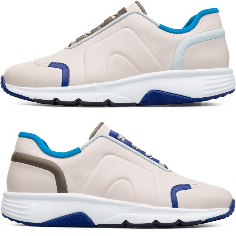 Camper Twins, Sneaker Herren, Beige|Blau|Grau, Größ|e 39 (EU), K100488 001