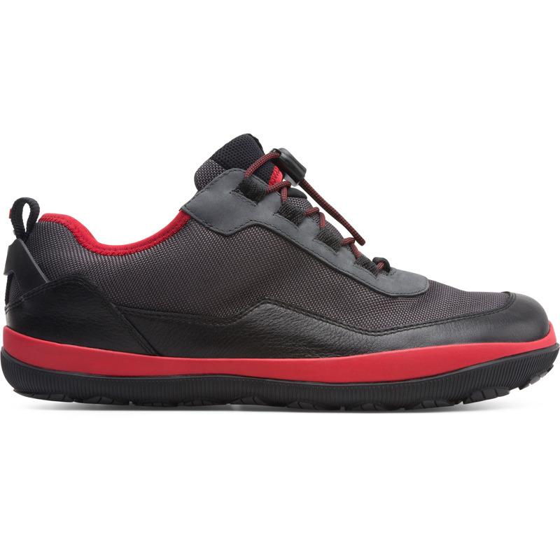 Camper Peu pista, Chaussures casual Homme, Noir/Gris, Taille 43 (EU), K100497-001