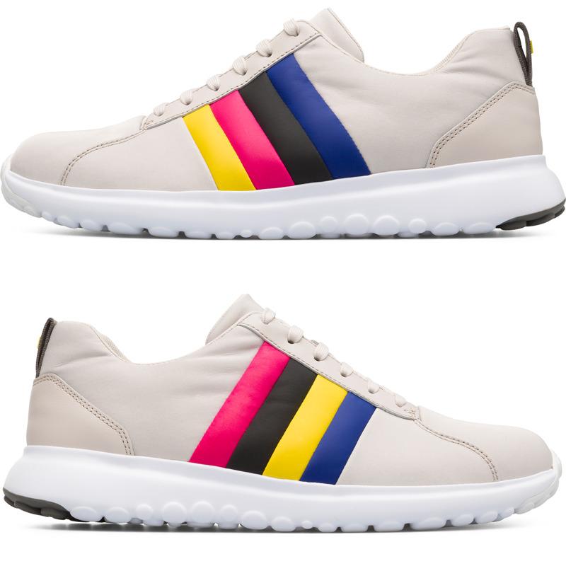 Camper Twins, Sneaker Herren, Beige , Größ|e 39 (EU), K100500 005