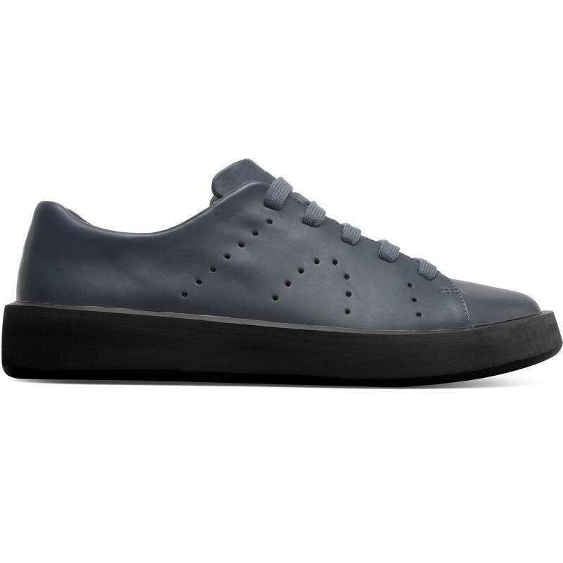 Camper Courb, Sneaker Herren, Grau , Größ|e 43 (EU), K100531-003 | Schuhe > Sneaker | Grau | Glattleder | CAMPER