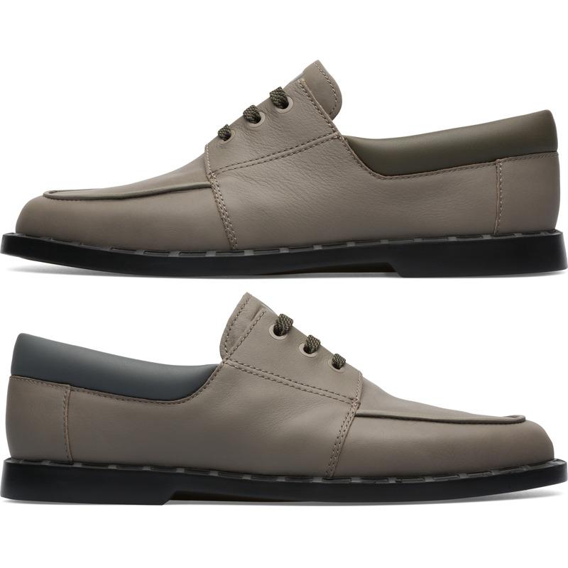 Camper Twins, Chaussures habillées Homme, Vert/Gris, Taille 43 (EU), K100627-001