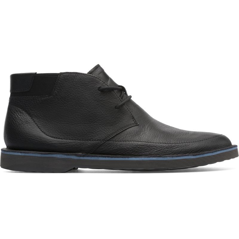 Camper Morrys, Stiefeletten Herren, Schwarz , Größ e 43 (EU), K300202-005   Schuhe > Sneaker > Sneaker high   Schwarz   Glattleder   CAMPER
