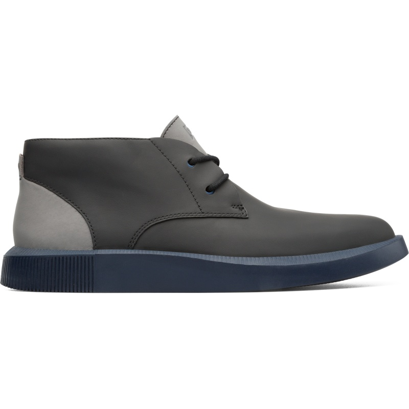 Camper Bill, Stiefeletten Herren, Schwarz , Größ e 41 (EU), K300235-004   Schuhe > Sneaker > Sneaker high   Schwarz   Glattleder   CAMPER