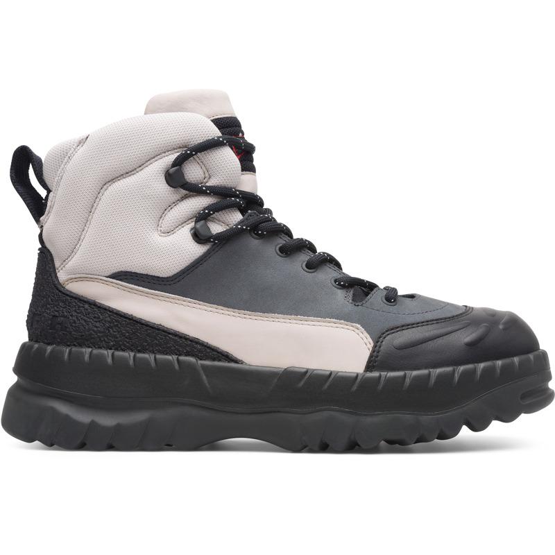 Camper LAB Kiko kostadinov, Sneaker Herren, Beige/|Schwarz/|Grau, Größ|e 39 (EU), K300247-006 | Schuhe > Sneaker > Sneaker low | Beige/schwarz/grau | Glattleder/textile | CAMPER