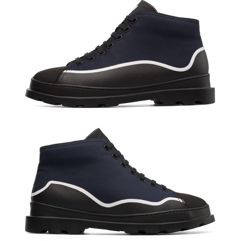 Camper Twins, Stiefeletten Herren, Blau/|Schwarz/|Weiß, Größ|e 42 (EU), K300299-002 | Schuhe > Sneaker > Sneaker high | Camper