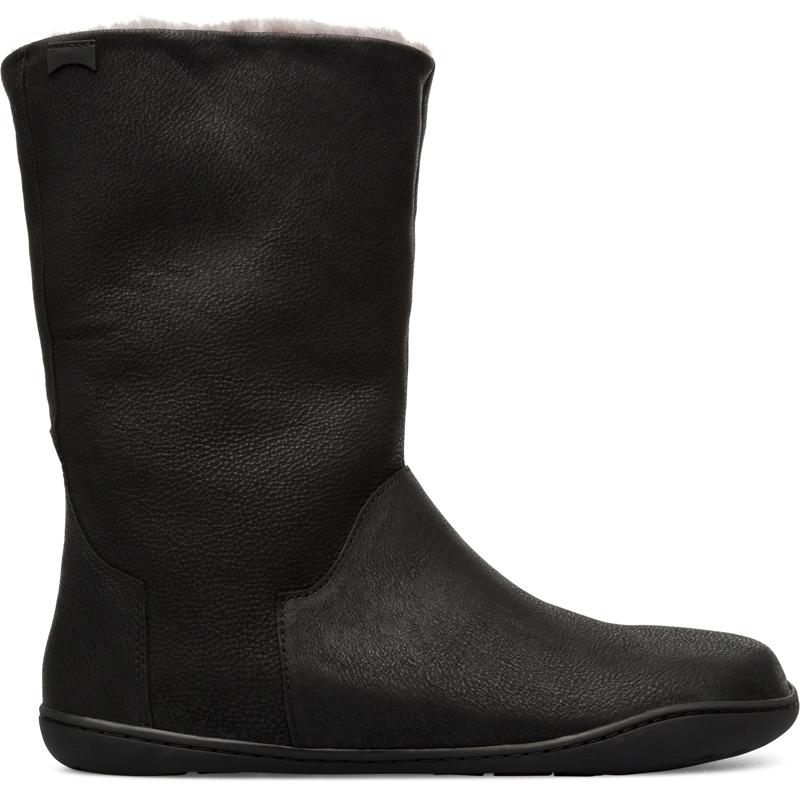 Camper Peu, Stiefel Damen, Schwarz , Größ|e 40 (EU), K400295-004 | Schuhe > Stiefel > Sonstige Stiefel | Schwarz | Glattleder | CAMPER
