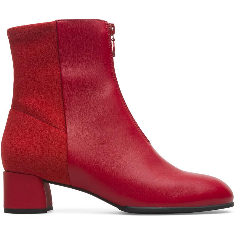 Camper Katie, Stiefel Damen, Rot , Größ e 36 (EU), K400312-004   Schuhe > Stiefel   Rot   Glattleder/textile   CAMPER
