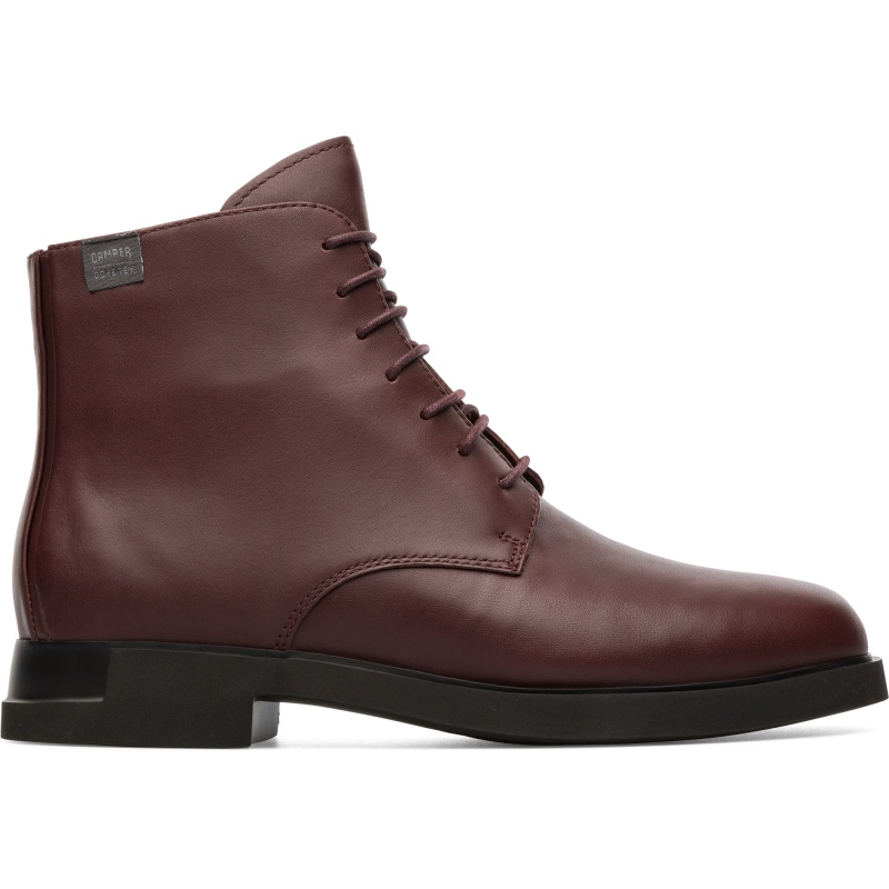 Camper Iman, Boots Women, Burgundy , Size 35 (EU), K400342-002
