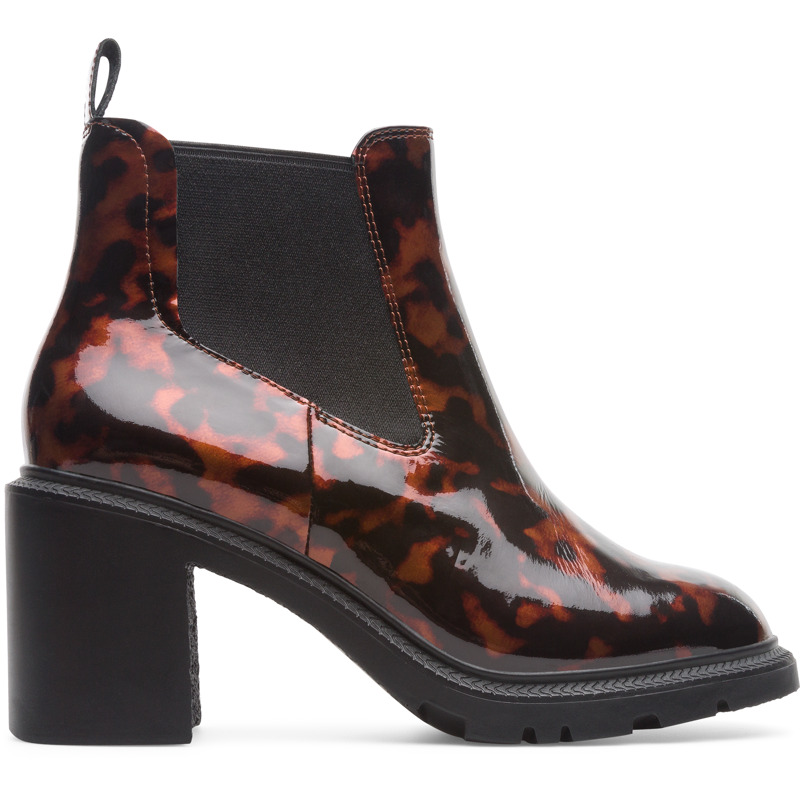Camper Whitnee, Ankle boots Women, Brown/Black, Size 35 (EU), K400397-001