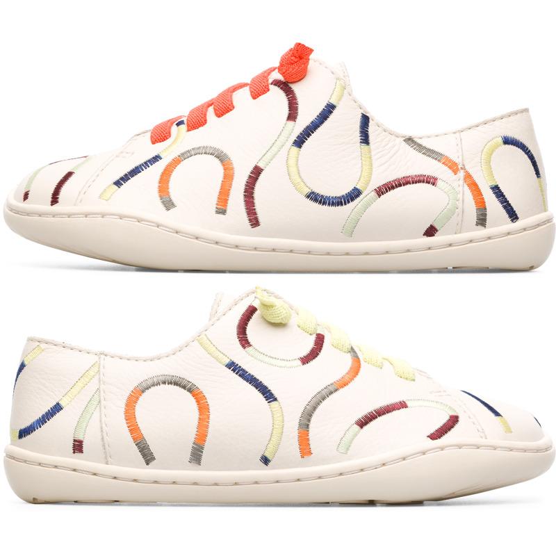 Camper Twins, Chaussures à lacets Enfant, Beige , Taille 25 (EU), K800253-001