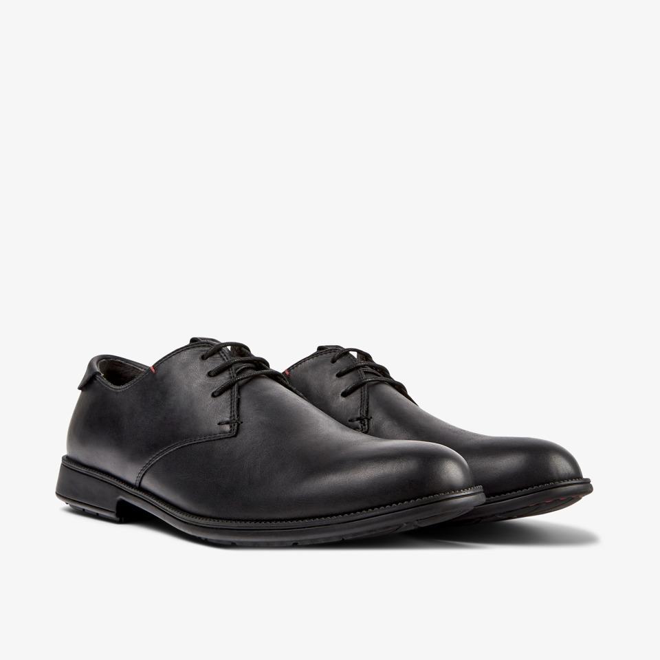 Camper Mil Black Formal Shoes Men 18552-074