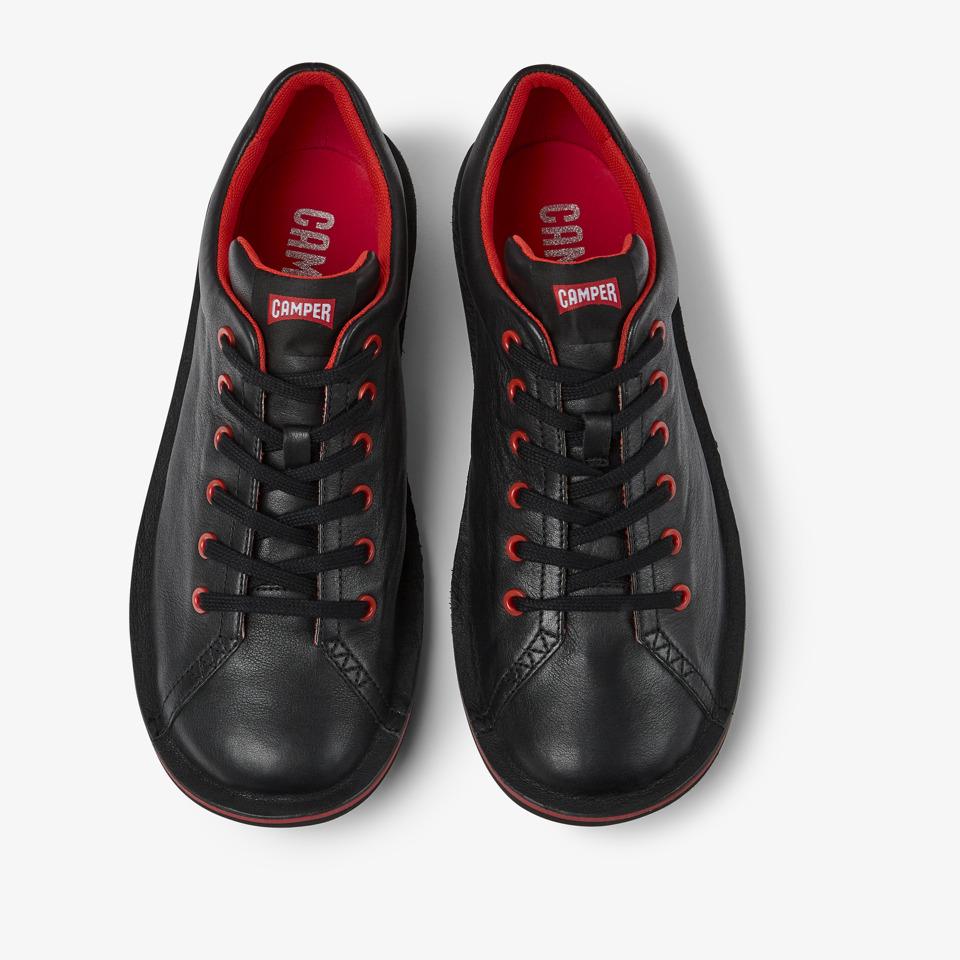 Camper Beetle Black Casual Shoes Men 18648-003