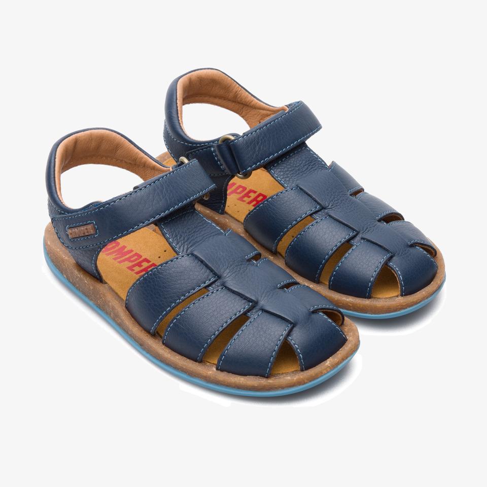 Camper Bicho Blue Sandals Kids 80177-045