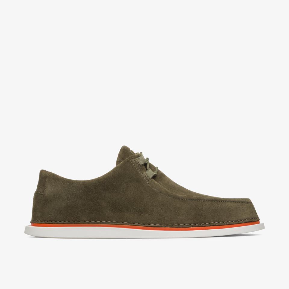Camper Nixie Green Casual Shoes Men K100223-001