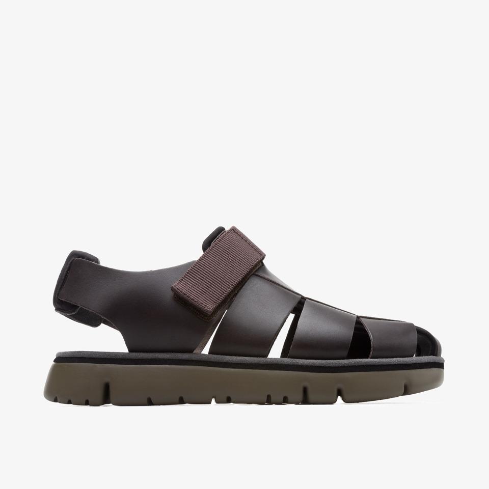 Camper Oruga Brown Sandals Men K100285-002