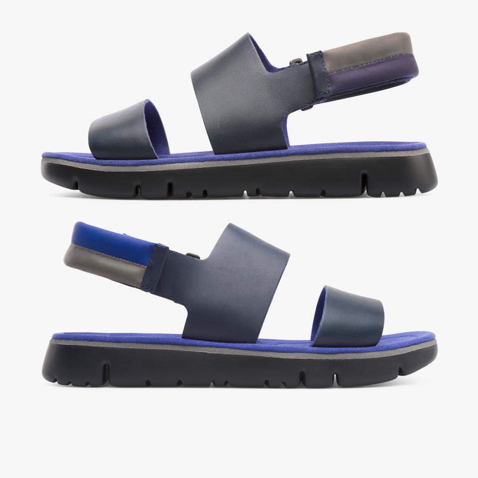 camper twins, sandalias hombre, azul , talla 46 (eu), k100503 002