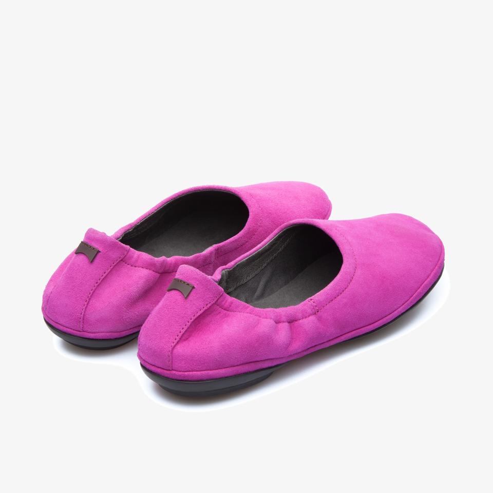 Camper Right Purple Flat Shoes Women K200238-001