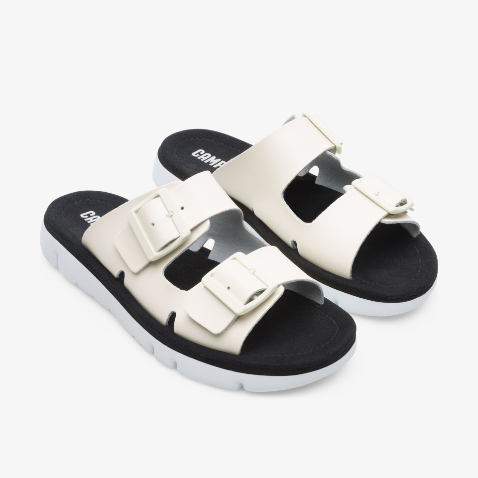 Sandálias rasas para Mulher – Coleção de verão – Camper Portugal