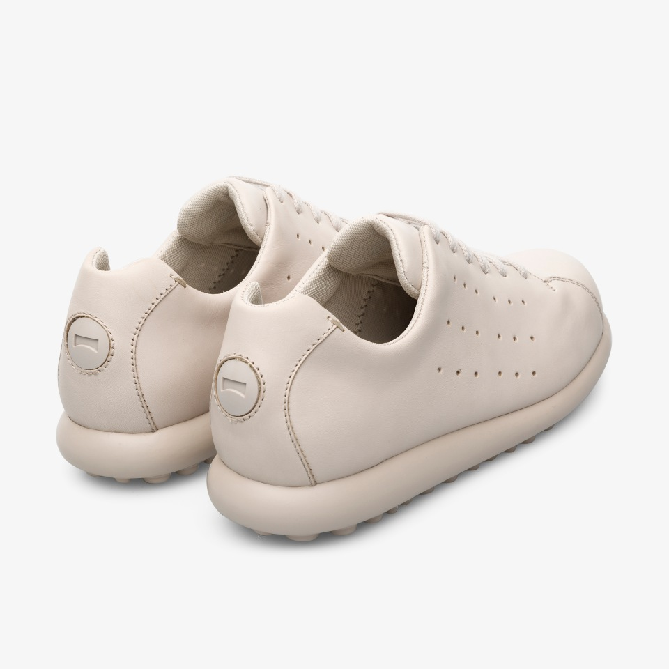 Womens Camper Pelotas Ariel Dark Brown Leather Lace Up Trainers Shoes Sz Size