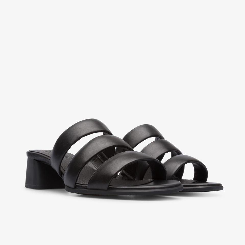 캠퍼 샌들 Camper Women Shoes Katie,BLACK