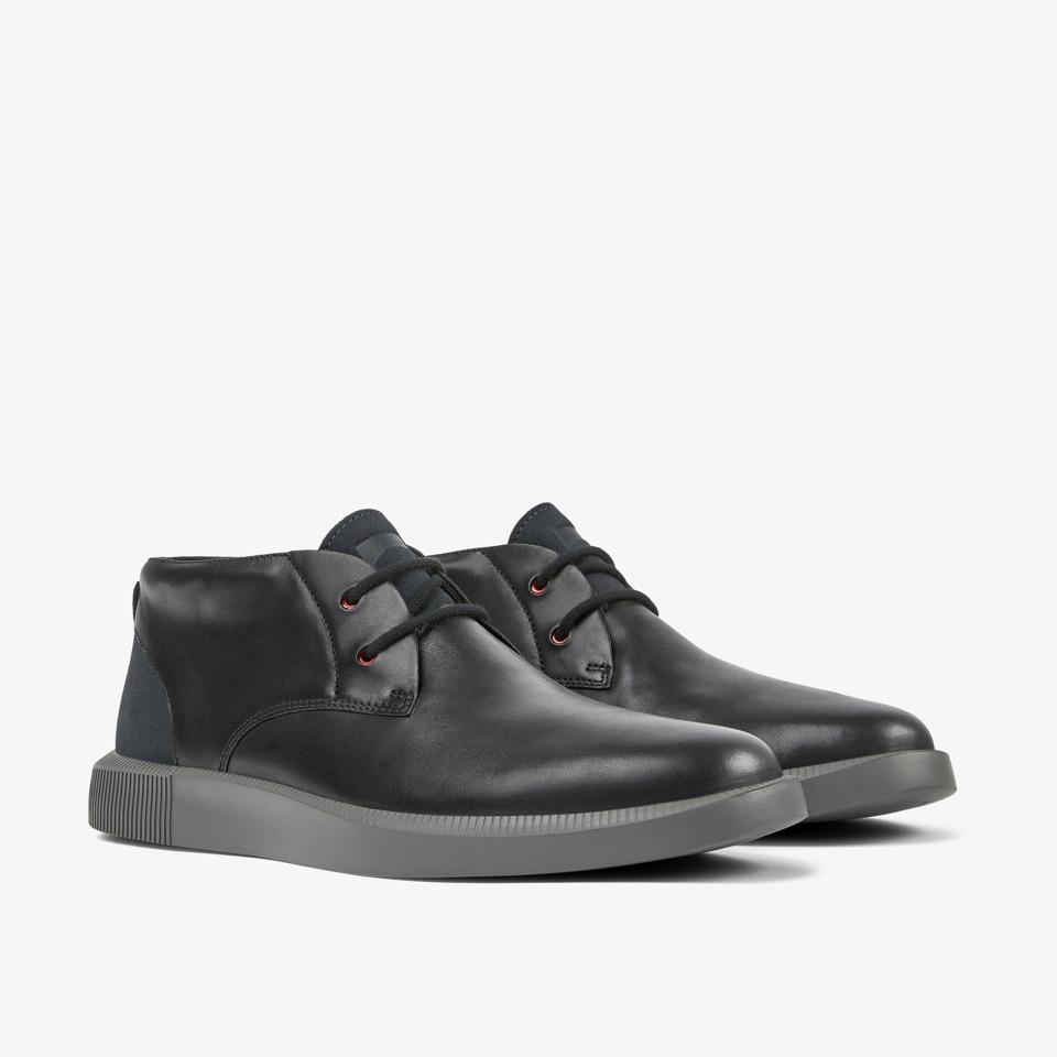 Camper Bill Black Formal Shoes Men K300235-007