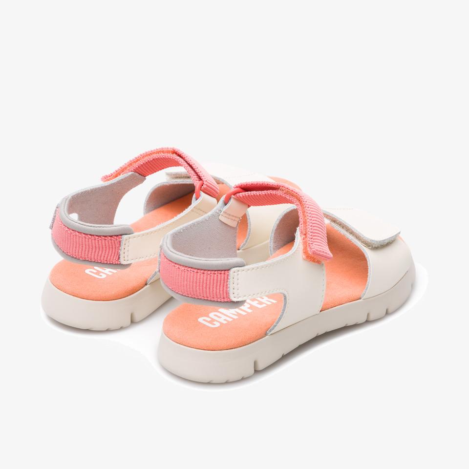 Camper Mira Beige Sandals Kids K800198-002